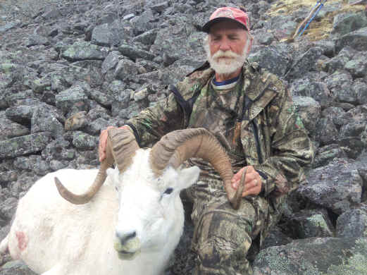 Click on picture for more information on this successful Dall Sheep hunt.
